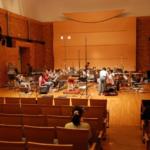 金管バンドで讃える シンフォニア・ノビリッシマ収録風景