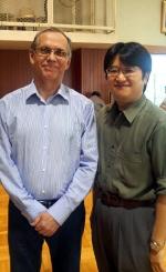 スパーク氏と八木澤氏